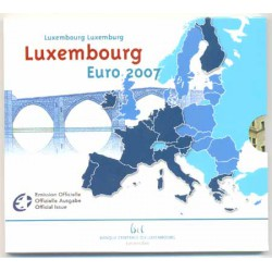 Luxemburgo 2007 Cartera Oficial 10 valores S/C