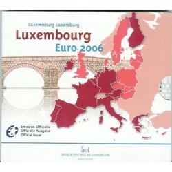 Luxemburgo 2006 Cartera Oficial 9 valores S/C