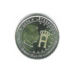 Luxemburgo 2004 2 Euros Gran Duque S/C
