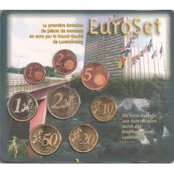 Luxemburgo 2002 Cartera Oficial S/C