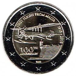 Malta 2015 2 Euros 1er vuelo desde Malta S/C