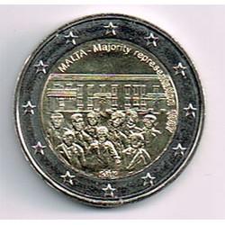 Malta 2012 2 Euros Representación Mayoritaria 1887 S/C