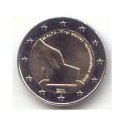 Malta 2011 2 Euros 150 Aniv. Primeras elecciones S/C