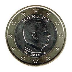 Mónaco 2014 1 Euro Alberto II S/C