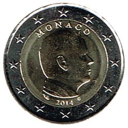 Mónaco 2014 2 Euros Alberto II S/C