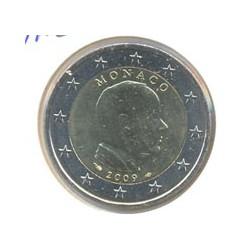 Mónaco 2009 2 Euros Príncipe Alberto S/C