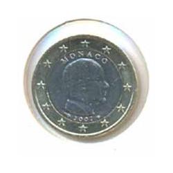 Mónaco 2007 1 Euro Príncipe Alberto S/C