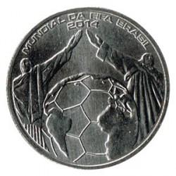 Portugal 2014 2´5 Euros Mundial de Fútbol Brasil 2014 S/C