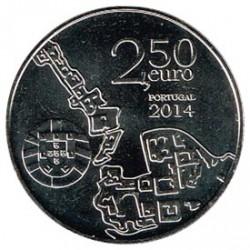 Portugal 2014 2´5 Euros Coimbra S/C
