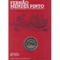 Portugal 2011 Cartera 2 Euros Fernao Mendes Pinto S/C