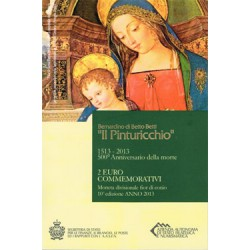 "San Marino 2013 2 Euros ""Il Pinturicchio"" S/C"