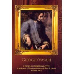 San Marino 2011 2 Euros Giorgio Vasari S/C