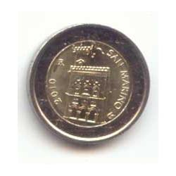 San Marino 2010 2 Euros S/C