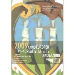 San Marino 2009 2 Euros Creatividad e Innovación S/C