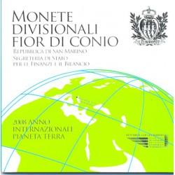 San Marino 2008 Cartera Oficial 8 Monedas y Medalla. S/C