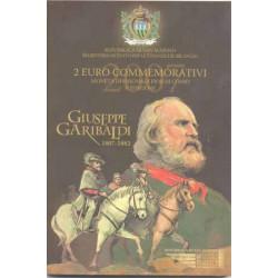 San Marino 2007 2 Euros Garibaldi S/C
