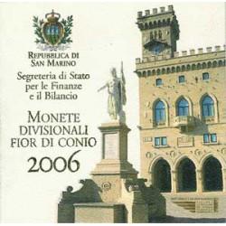 San Marino 2006 Cartera Oficial 8 Valores y Medalla. S/C