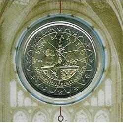 San Marino 2005 2 Euros Galileo S/C