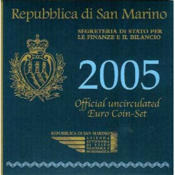San Marino 2005 Cartera Oficial S/C