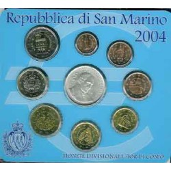San Marino 2004 Cartera Oficial S/C