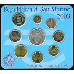 San Marino 2003 Cartera Oficial S/C