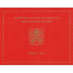 Vaticano 2015 Cartera Oficial S/C