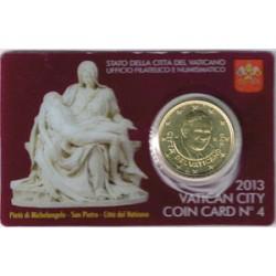 Vaticano 2013 50 Céntimos en Blister S/C