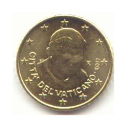Vaticano 2011 50 Céntimos sin Blister S/C