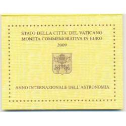 Vaticano 2009 2 Euros Año Intern. Astronomía S/C