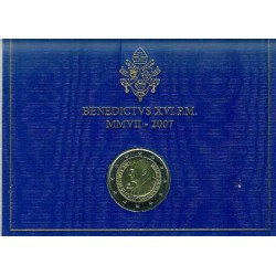 Vaticano 2007 2 Euros 80 Cumpleaños Benedicto XVI S/C