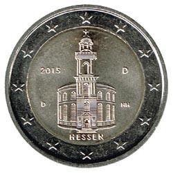 Alemania 2015 2 Euros Ceca D.Iglesia de S.Pablo.Frankfurt. S/C