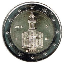 Alemania 2015 2 Euros Ceca F.Iglesia de S.Pablo.Frankfurt. S/C