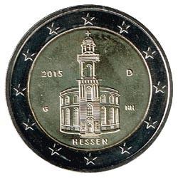 Alemania 2015 2 Euros Ceca G.Iglesia de S.Pablo.Frankfurt. S/C