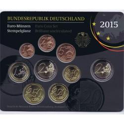 Alemania 2015 Cartera Oficial Cualquier Ceca S/C