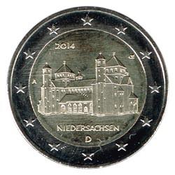 Alemania 2014 2 Euros Ceca A Iglesia de S.Miguel de Hildesheim S/C