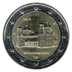 Alemania 2014 2 Euros Ceca D Iglesia de S.Miguel de Hildesheim S/C