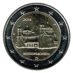 Alemania 2014 2 Euros Ceca F Iglesia de S.Miguel de Hildesheim S/C