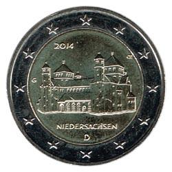 Alemania 2014 2 Euros Ceca G Iglesia de S.Miguel de Hildesheim S/C