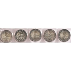 Alemania 2013 2 Euros Las 5 Cecas. Maulbronn S/C