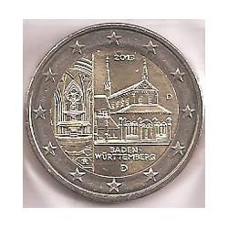 Alemania 2013 2 Euros Ceca D. Maulbronn S/C