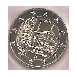 Alemania 2013 2 Euros Ceca G. Maulbronn S/C