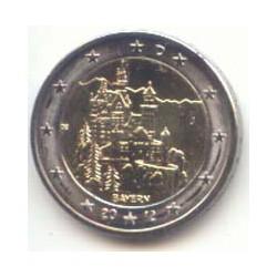 Alemania 2012 2 Euros cualquier Ceca. Bayern S/C