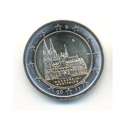 Alemania 2011 2 Euros Ceca A.Renania del N.- Westfalia S/C