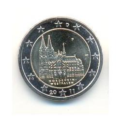 Alemania 2011 2 Euros Ceca F.Renania del N.- Westfalia S/C