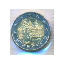 Alemania 2010 2 Euros Ceca A. Bremen S/C