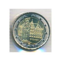 Alemania 2010 2 Euros Ceca J.Bremen S/C