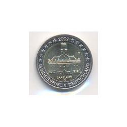 Alemania 2009 2 Euros Ceca G. Saarland S/C