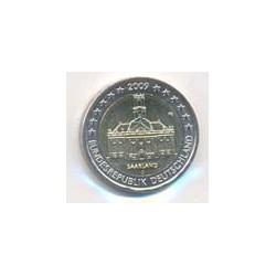 Alemania 2009 2 Euros de cualquier Ceca. Saarland S/C