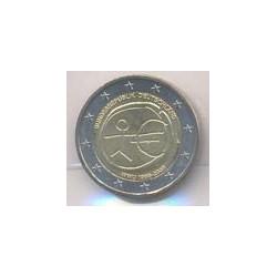 Alemania 2009 2 Euros Ceca A. 10º Aniv. del Euro S/C
