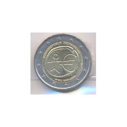 Alemania 2009 2 Euros Ceca D. 10º Aniv. del Euro S/C